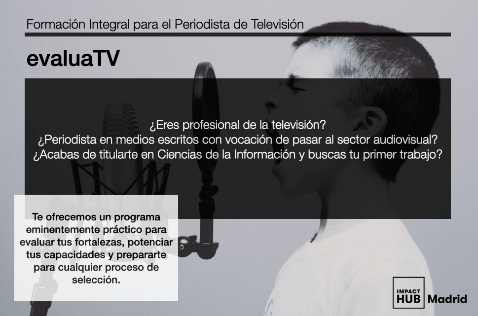 Formación Integral para el periodista de Televisión